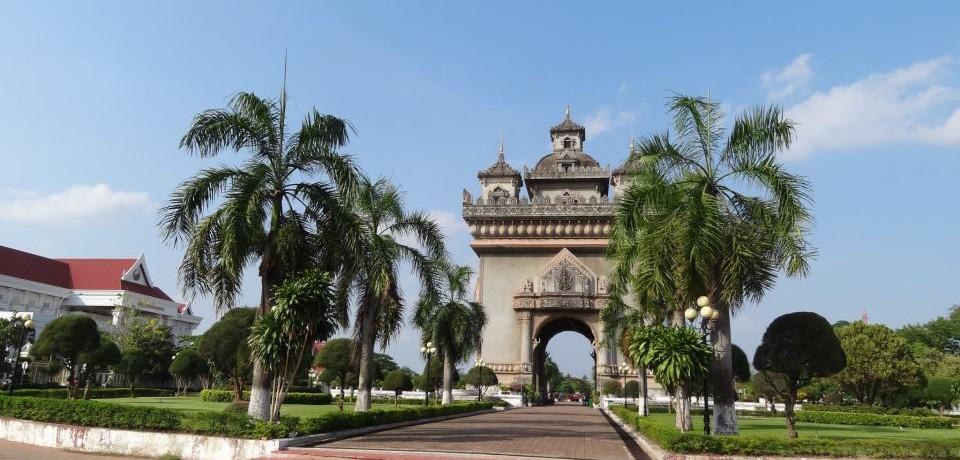 Patousay in Vientiane,Laos