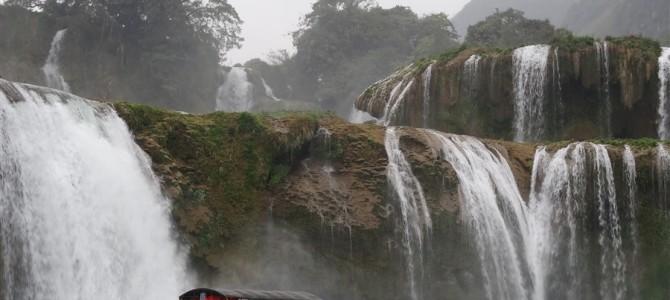 アジア1位・世界2位の国境景色ー徳天瀑布ー