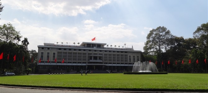 統一会堂と戦争証跡博物館とあれこれ