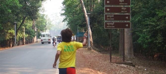 【長編】アンコールワットまで!いやいやバイヨンまで!マラソンしてみたらとても気持ちよかった