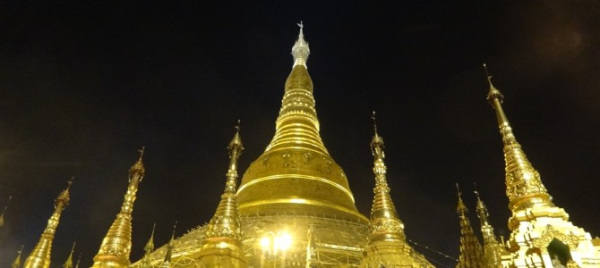 ミャンマー仏教の総本山シュエダゴンパゴダ特集