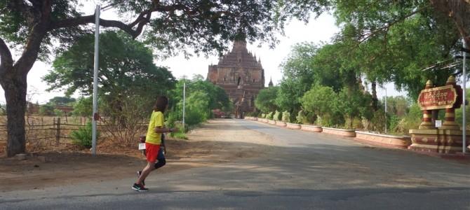 バガン遺跡をマラソンしたら暑くてしんどかったけど、結果とても幸せだった