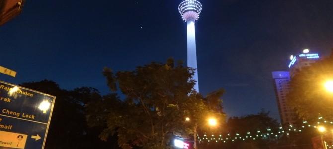 今度はKLタワーに上ってみようと向かったけど、無理でした