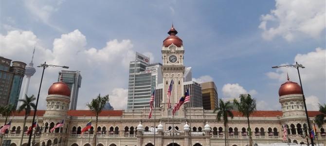 マレーシア独立記念付近を散策