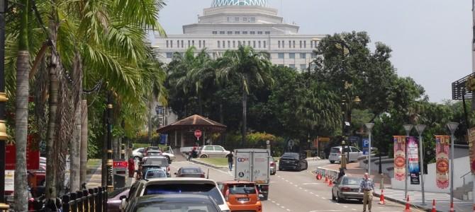 ジョホールバル街中へ。マレーシアは都市の名前がかっこいい