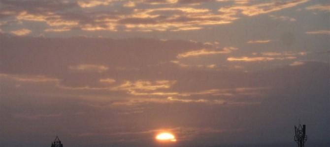 インド周遊記<その67>ーカニャクマリはインドで唯一、海から朝日と夕日が眺められる場所