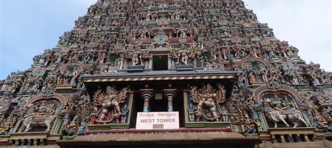 インド周遊記<その74>ーミーナークシ寺院