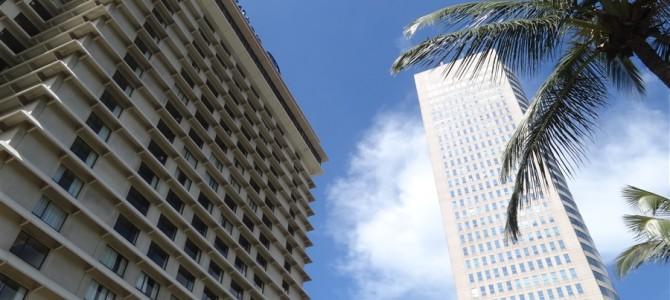 旅始まって2回目の高級ホテル、ヒルトンコロンボ宿泊