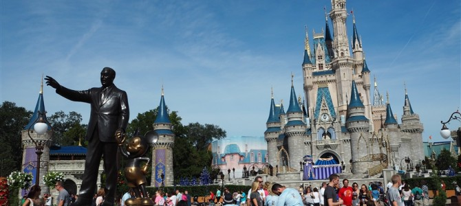 【アメリカ横断Day16 & 17】世界1のWalt Disney worldその1【マジックキングダム】&【ハリウッドスタジオ】