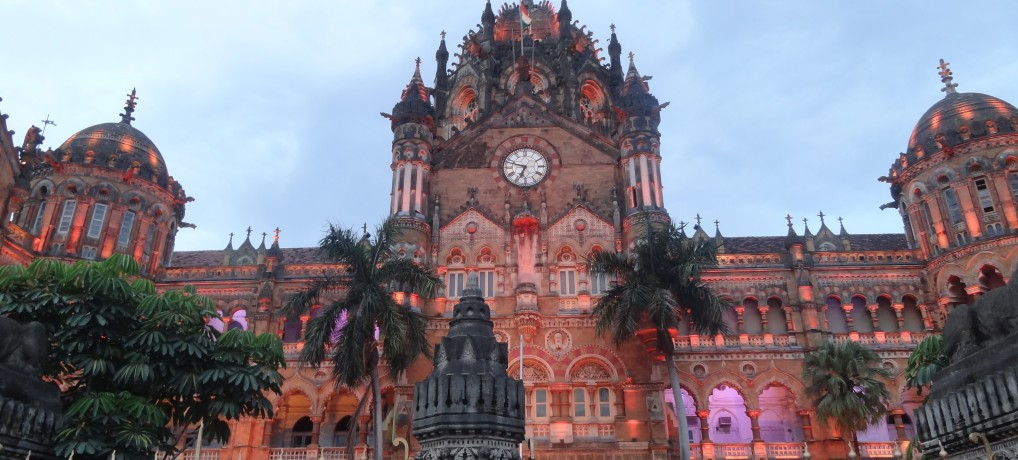 Chhatrapati Shivaji Terminus in India