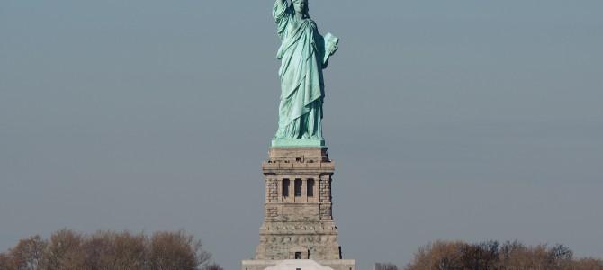 【ニューヨーク1日目-1】【世界遺産】自由の女神、ブルックリンブリッジ