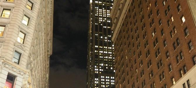 【ニューヨーク1日目-3】エンパイヤステートビル