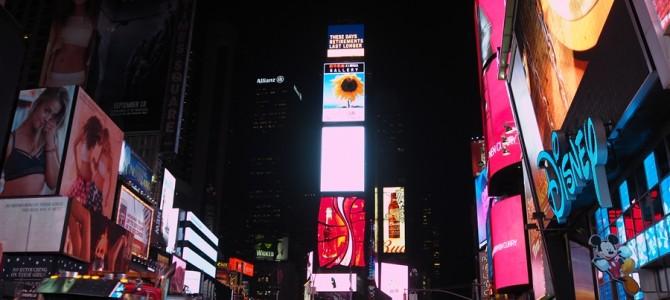 【ニューヨーク1日目-2】WTC跡、タイムズスクエア