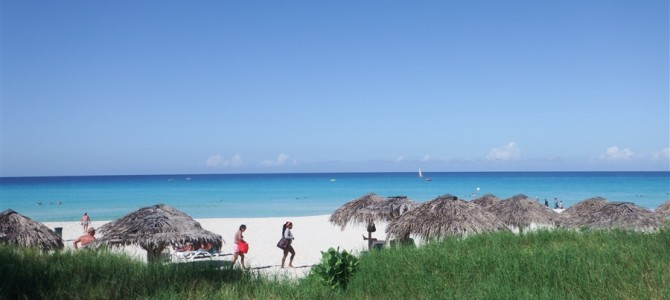 【キューバ8日目】カリブの海に感激!