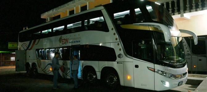 のんびり過ごした後は、アンティグアへ夜行バスで移動