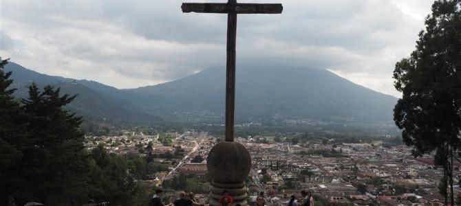 十字架の山からの景色