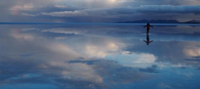【ウユニ塩湖その2】ウユニ塩湖 サンライズツアー