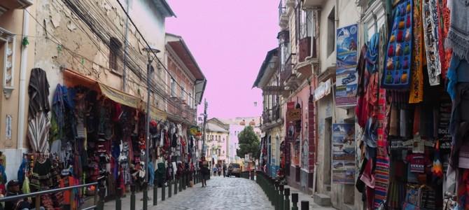 【世界遺産】世界最高地の首都ラパスの町並みと初めてのボリパー