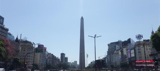 ブエノスアイレスな日々【その3】-オベリスコとカミニート-