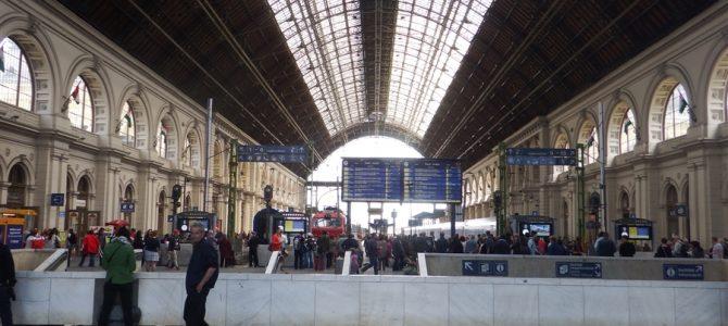 ブダペスト東駅(Budapest-Keleti palyaudvar)