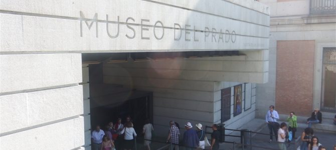 【スペイン&ポルトガル車旅Day4-2】プラド美術館とソフィア王妃芸術センターのゲルニカ