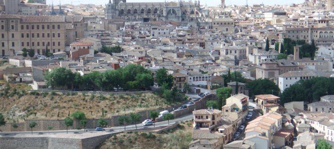 【スペイン&ポルトガル車旅Day6-2】【世界遺産】絶景の街「トレド」と白い風車の街