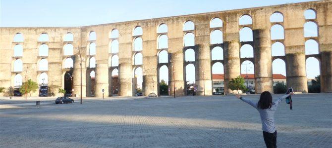 【スペイン&ポルトガル車旅Day7-2】【世界遺産】いよいよポルトガル突入。するとすぐに世界遺産「エルヴァス」の街