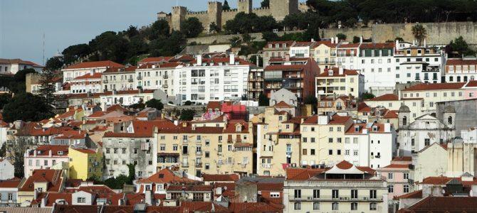 【スペイン&ポルトガル車旅Day9-2】【世界遺産】リスボンの7月24日通り