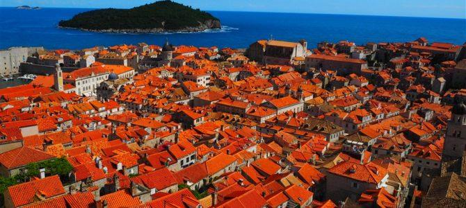 魔女の宅急便の世界。アドリア海の真珠「ドブロヴニク旧市街」