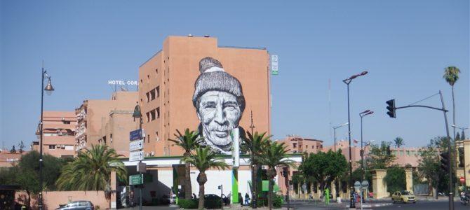 マラケシュ観光1日目は、モロッコ最大迷路「マラケシュメディナ」じゃなくて、新市街を散策