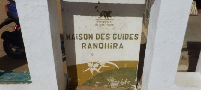 ラヌヒラでトレッキングの準備。全てはラヌヒラのANGAPオフィスにて手続きです