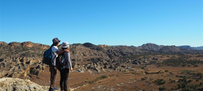 イサル国立公園で大自然の中をトレッキング1日目。そこで見れた景色【第1弾】