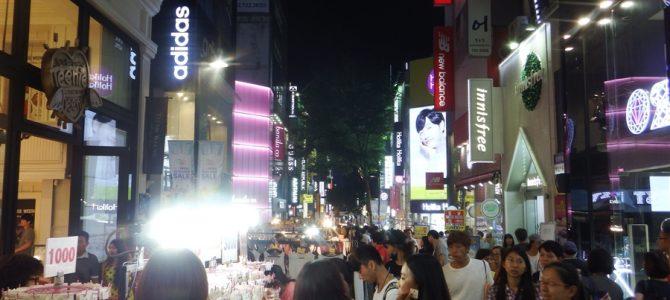 世界一周最後の国『韓国』ソウル初日。ソウルでは買い物がメインになってしまう