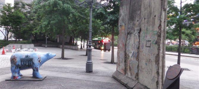 ソウル観光2日目。大都市ソウルで見つけたベルリンの壁。